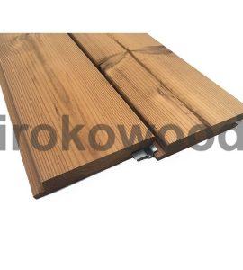 چوب ترمو 117*19 Z-Clips کاج فنلاند M