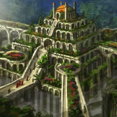 روف گاردن باغ های معلق بابل
