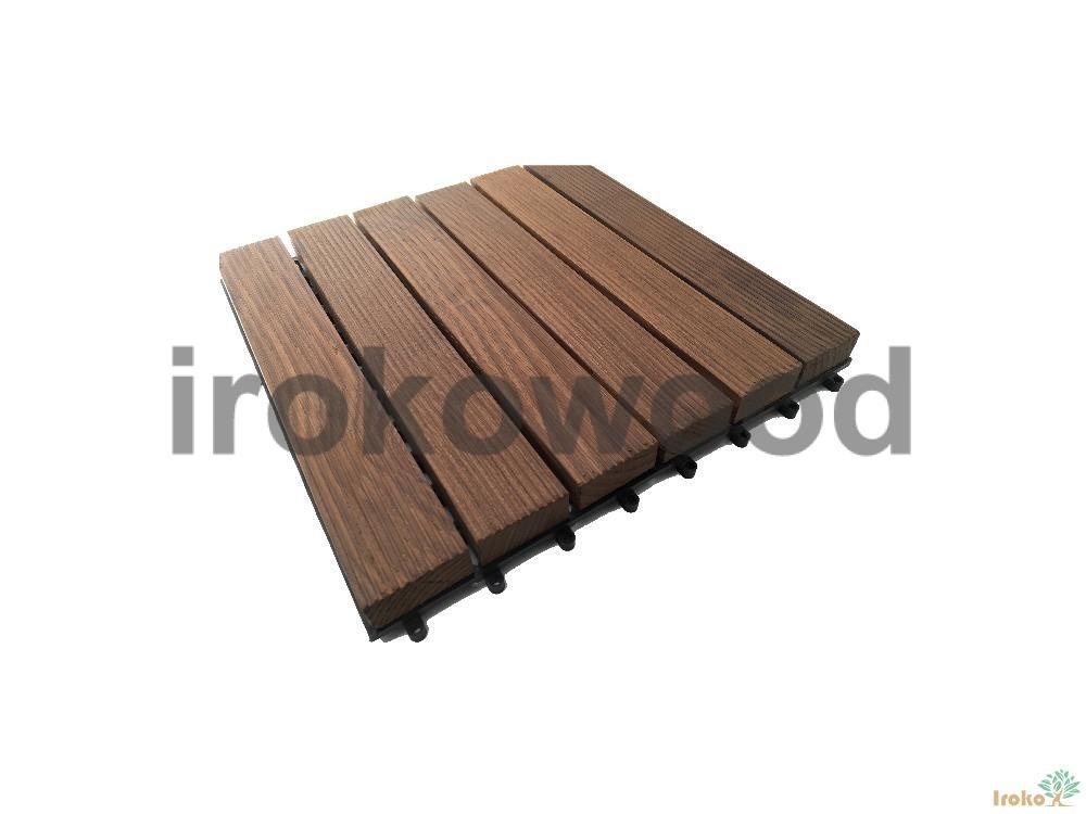 چوب ترمووود 30*30 تایل اش کرواسی EV