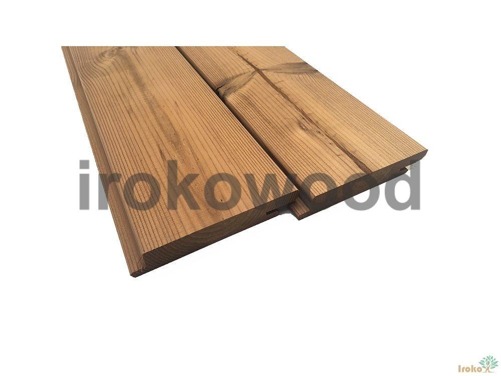 چوب ترمووود 117*19 Z-Clips کاج فنلاند M