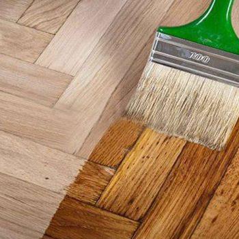 رنگ زدن چوب ترمو